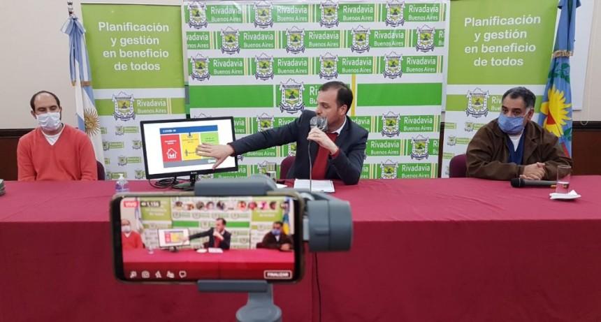 Rivadavia: Ampliación de actividades y horarios de comercios