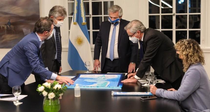El Presidente presenta tres proyectos de Ley para obtener status de política de Estado por la soberanía de las Malvinas