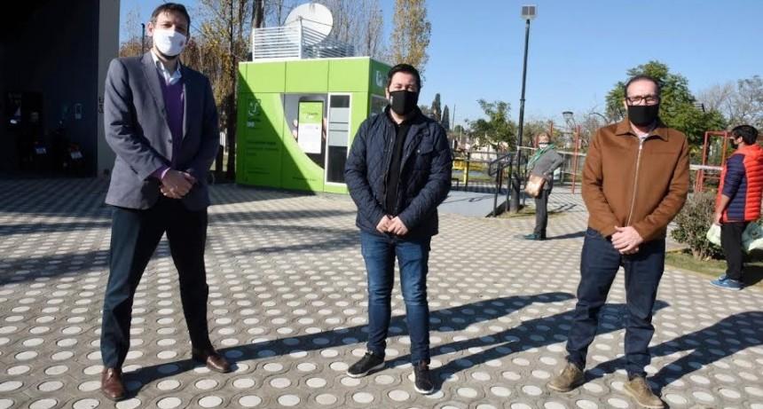 Dos nuevos cajeros automáticos en Malvinas Argentinas