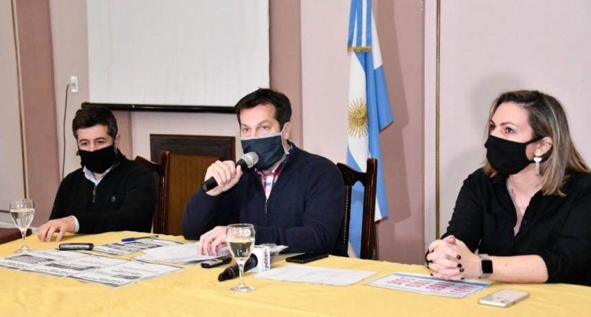 Necochea: Rojas anunció la apertura de actividades deportivas y extiende el horario de negocios de barrio