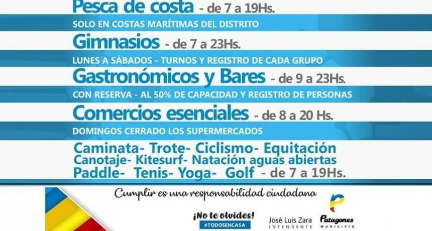 Patagones: Durante la etapa de Distanciamiento Social, habilitan bares con reserva, y reuniones sociales