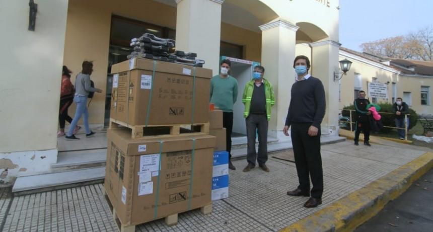 San Vicente: Más equipamiento para el sistema de salud
