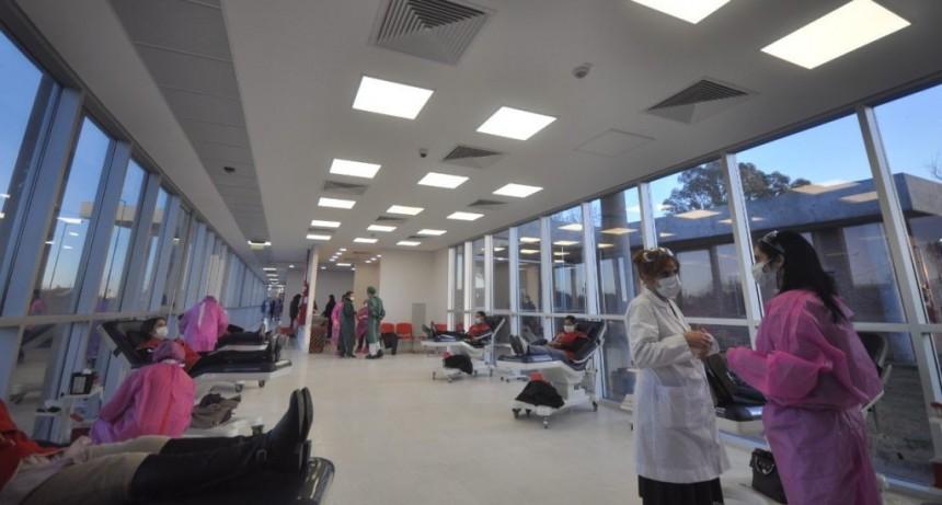 En Ciudadela se inauguró el nuevo Centro Regional de Hemoterapia