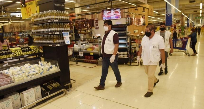 Malvinas Argentinas: Activan protocolo preventivo en Hiper Carrefour (Terrazas) ante posible caso positivo