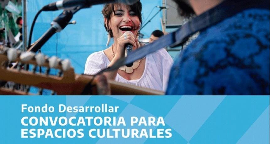 """Mediante el """"Fondo Desarrollar"""", se benefició a 341 espacios culturales en todo el país"""