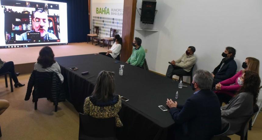 B. Blanca: El intendente Héctor Gay participó del inicio del programa de sensibilización sobre la Ley Micaela