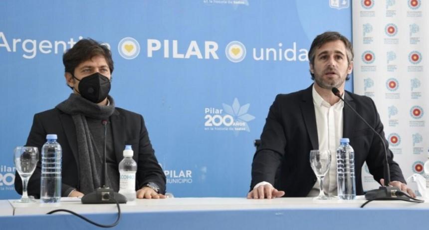 """Achával: """"Este hospital es un sueño hecho realidad en Derqui"""""""