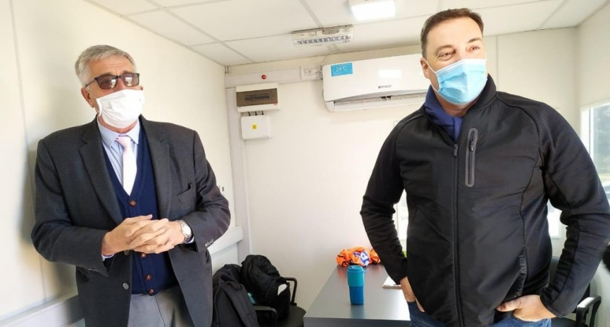 Gral. Belgrano: El Jefe de Gabinete del Ministro de Seguridad Bonaerense visitó el distrito