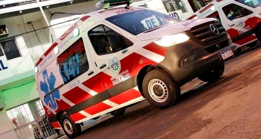 José C. Paz: Llegaron las nuevas ambulancias al distrito