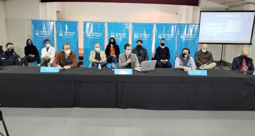 Junín: El intendente Petrecca llamó a la comunidad a