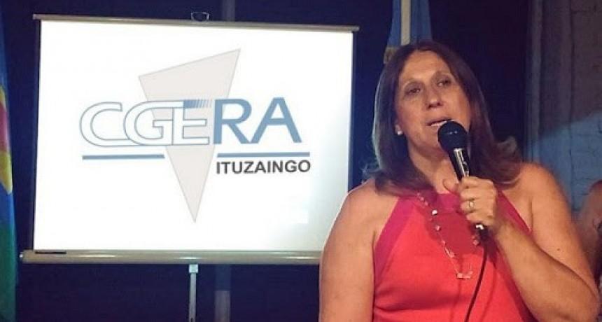 """Sandra Rey de CGERA Ituzaingó pide que """"los bancos faciliten préstamos para el pago del medio aguinaldo"""""""