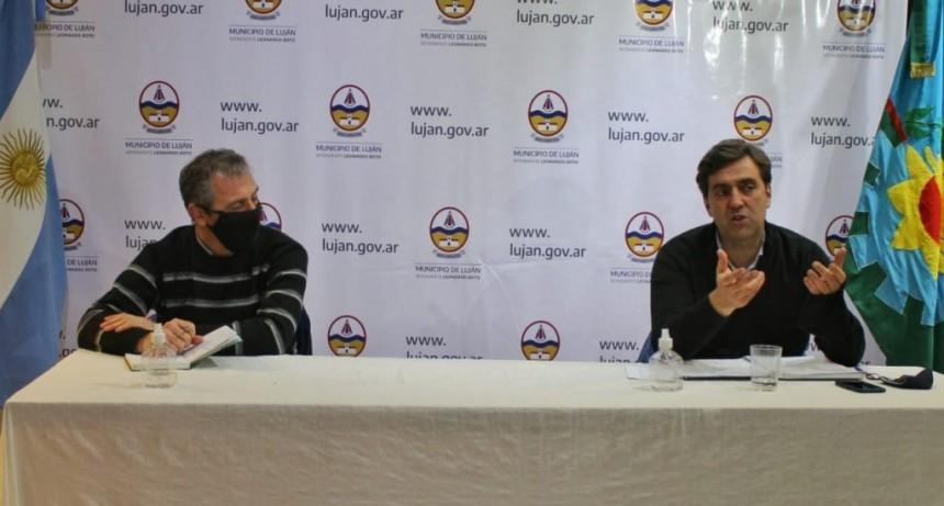 Luján: Reunión del Comité de Crisis para abordar la próxima etapa de la cuarentena