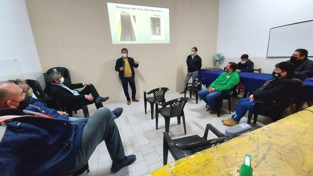 Colón (ER): Fue presentado a los gremios el trabajo de relevamiento al Personal Municipal