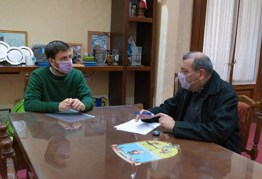 Mercedes: Ustarroz firmó convenio con Centro de Formación Profesional Nº402