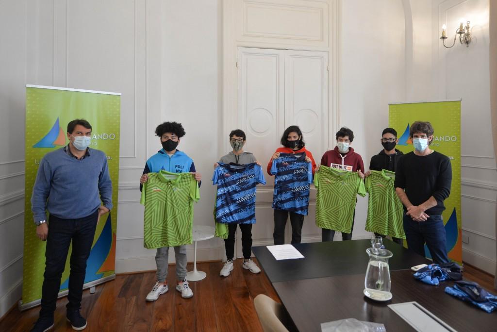 San Fernando: Juan Andreotti recibió a jóvenes tenistas que representarán al distrito en los Juegos Bonaerenses