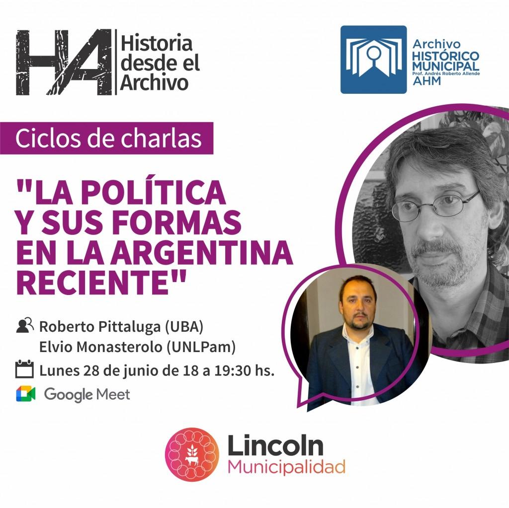 """Lincoln: Se viene el ciclo """"Historias desde el Archivo"""""""