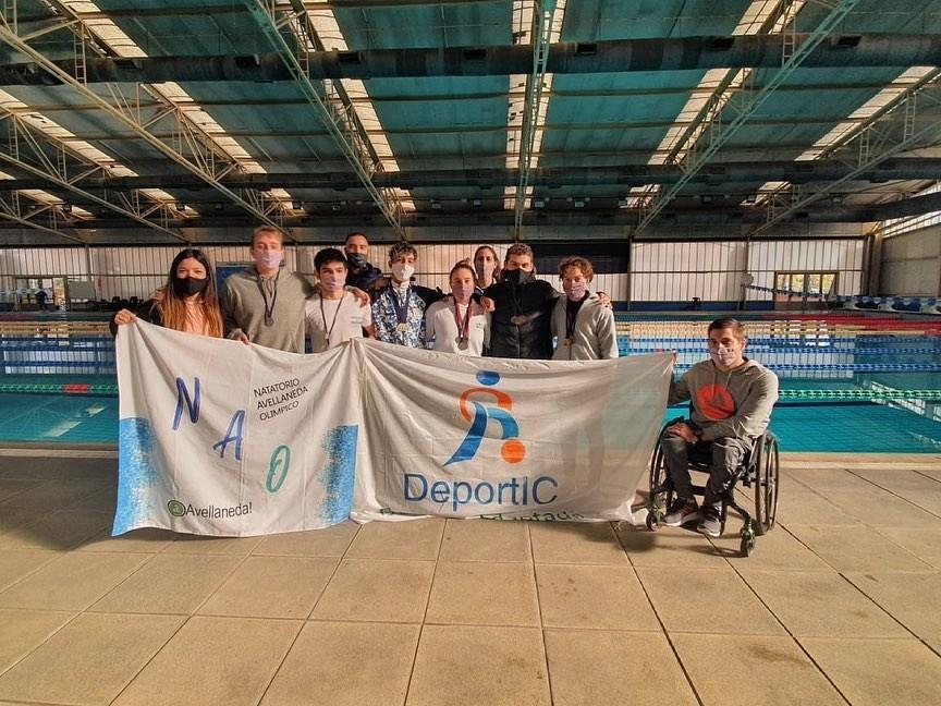 Avellaneda: Nadadores del distrito se destacaron en el Torneo Open Copar 2021