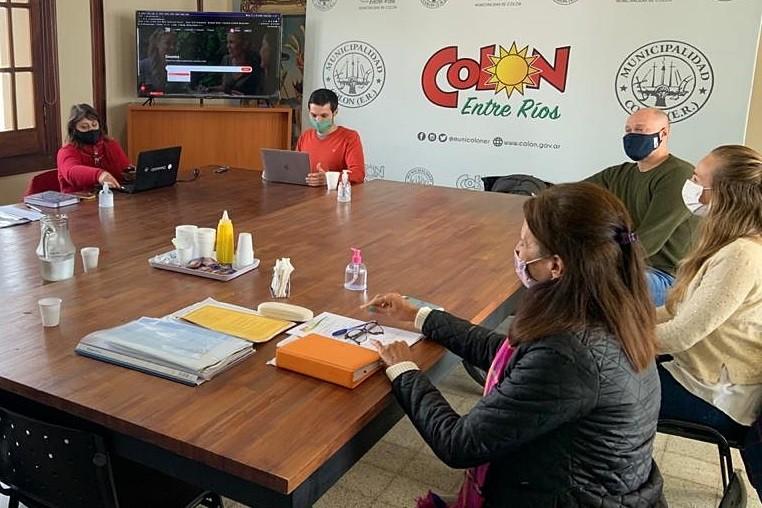 Colón (ER): Trabajan en la producción de varios programas de desarrollo