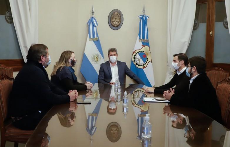 """Diputada Ramírez: """"Me reuní con el gobernador Uñac, para conocer la organización que tiene el sistema de salud de San Juan"""""""
