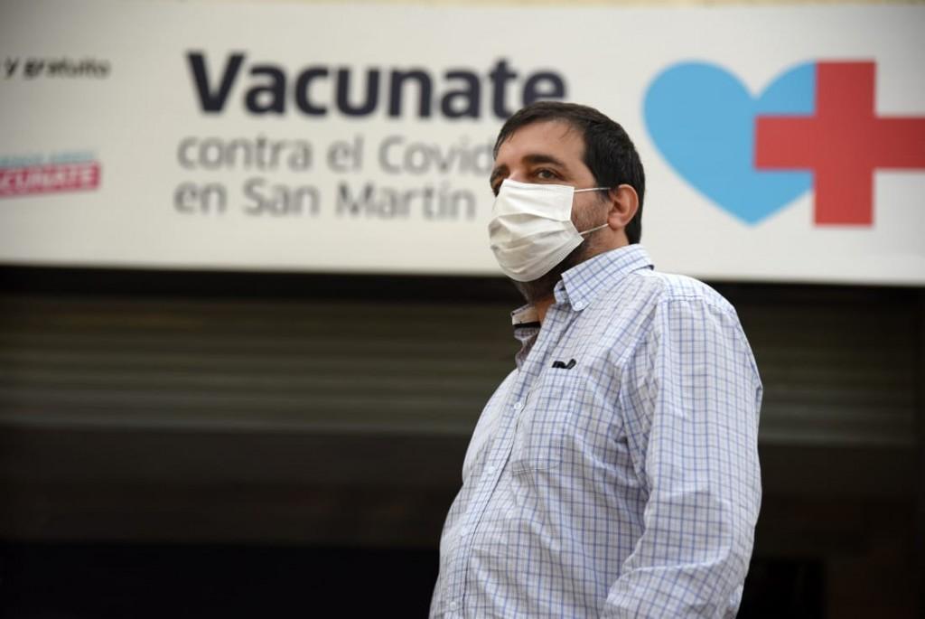"""Fernando Moreira: """"La única herramienta efectiva contra la pandemia es el sistema de vacunación"""""""