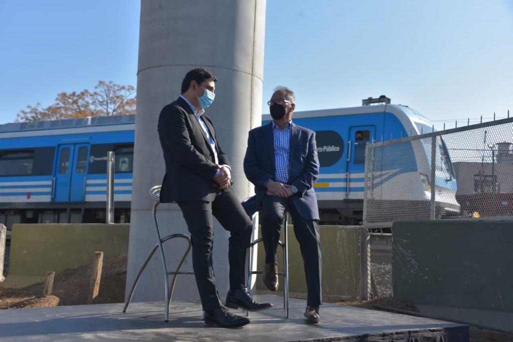 Ituzaingó: Descalzo y Marinucci presentaron la construcción de dos puentes modulares