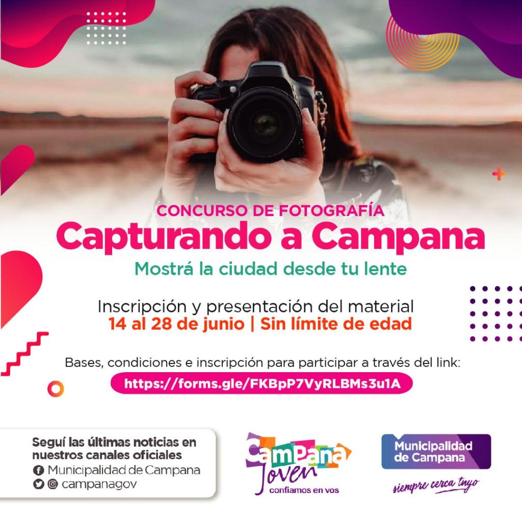 """Campana: El Municipio lanza el concurso de fotografía """"Capturando Campana"""""""