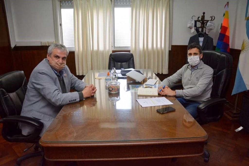 Salliqueló: Importante encuentro en el Ministerio de salud