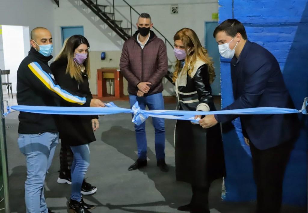 Avellaneda: Chornobroff y Sierra inauguraron obras en clubes de barrio del distrito