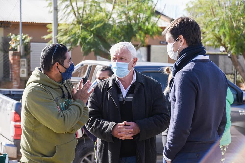 San Vicente: Operativo Sanitario en el Barrio Pueblo de la Paz