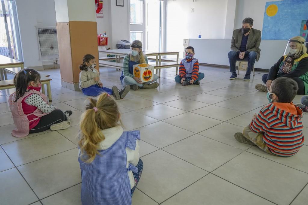 Vicente López: Comenzaron las clases presenciales en las escuelas municipales