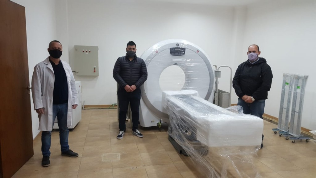 Baradero: Llegó el tomógrafo al Hospital Municipal