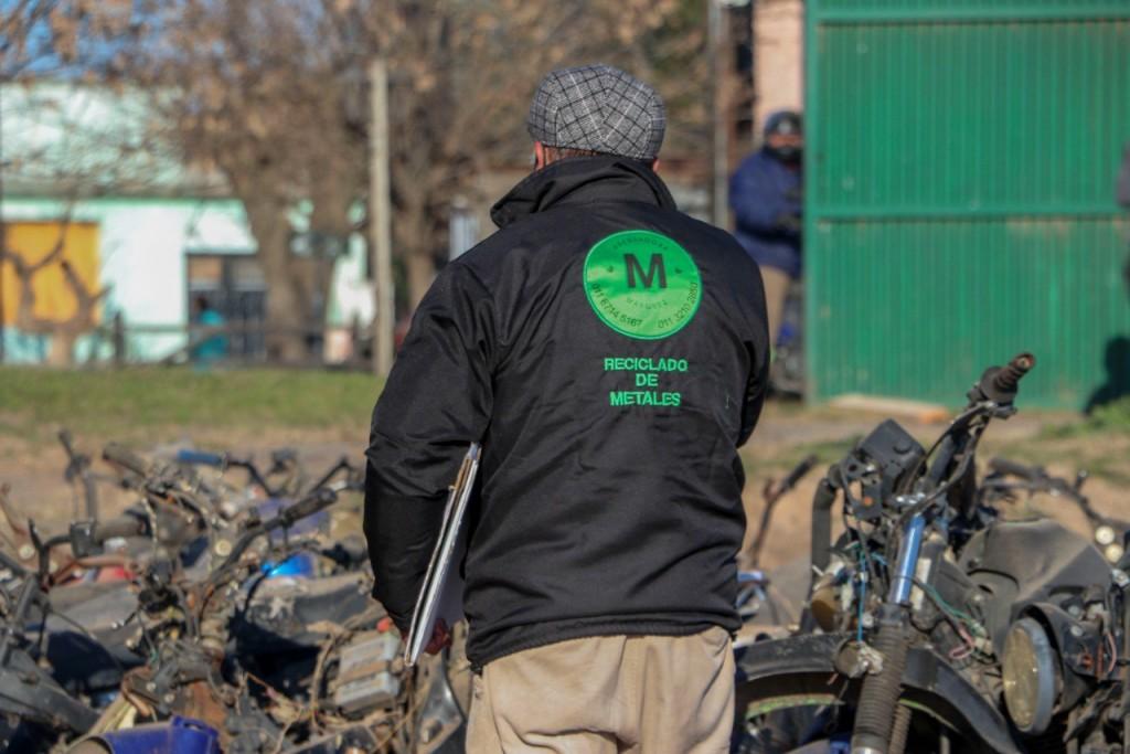 C. de Areco: Tareas de reciclado en el distrito