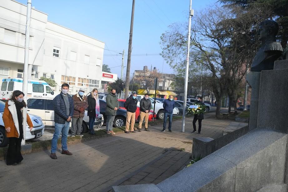 Mercedes: Se realizó acto por el Día de la Bandera conmemorando a Belgrano