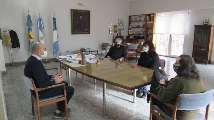 Cnel. Dorrego: Reyes se reunió con la delegada seccional del INAES
