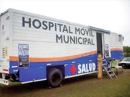 Ituzaingó: Móvil Sanitario en los barrios del distrito