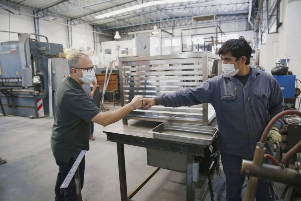 Tres de Febrero: El Municipio lanza un plan de apoyo a la producción PyME, los comercios y la creación de trabajo