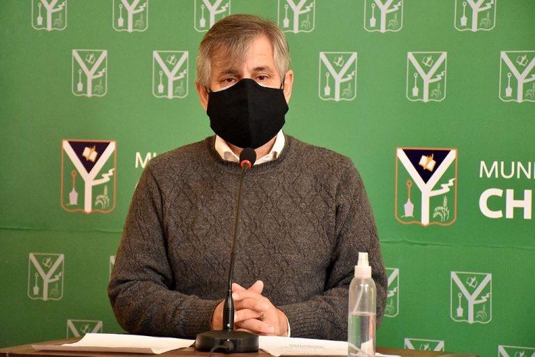 """Guillermo Britos: """"A mí nadie me llamó. Nos enteramos por los medios que el gobierno de la Provincia ha decidido que Chivilcoy no pase a Fase 3"""""""