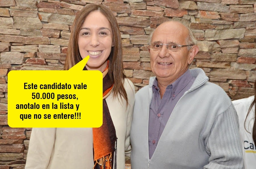 """Pehuajó: Ex candidato asegura """"no puse un mango"""", al aparecer como aportante de Vidal"""
