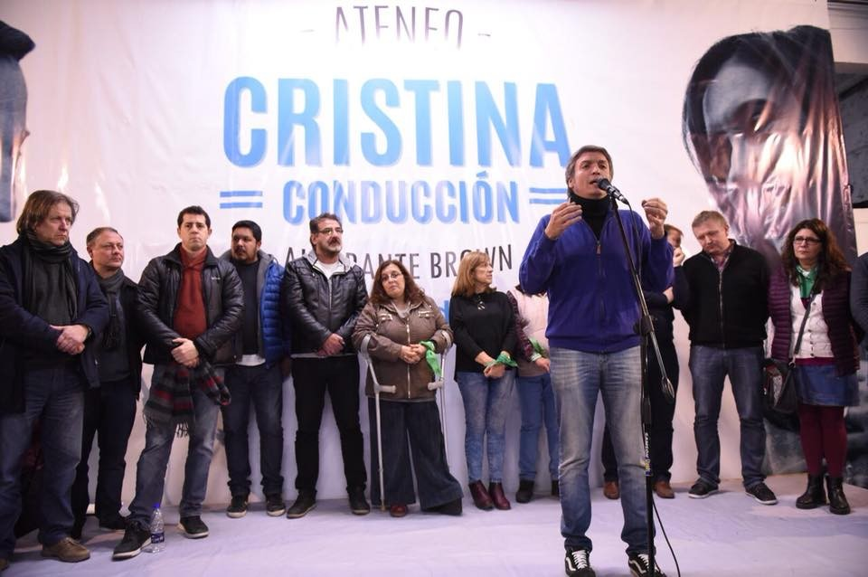Burzaco: Máximo Kirchner y Mariano Cascallares inauguraron local partidario