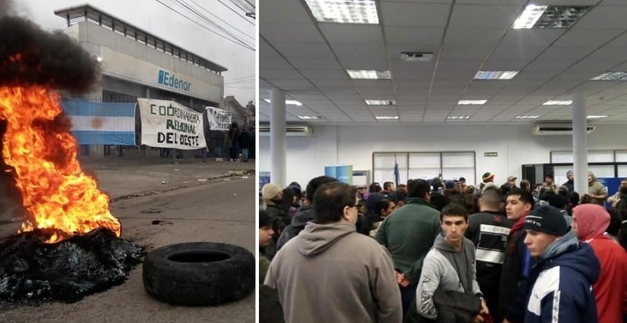Moreno: Vecinos tomaron las oficinas de Edenor en reclamo por las tarifas