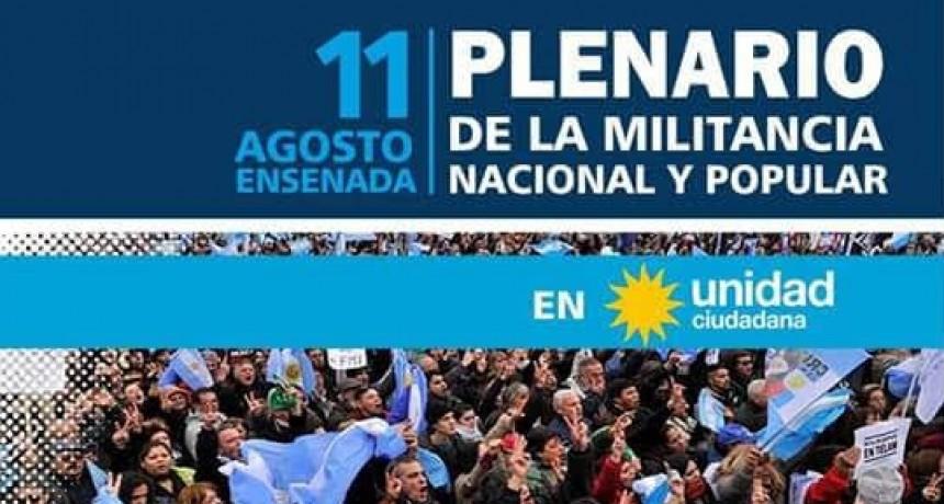 Ensenada: Secco confirmó la realización de acto nacional de Unidad Ciudadana