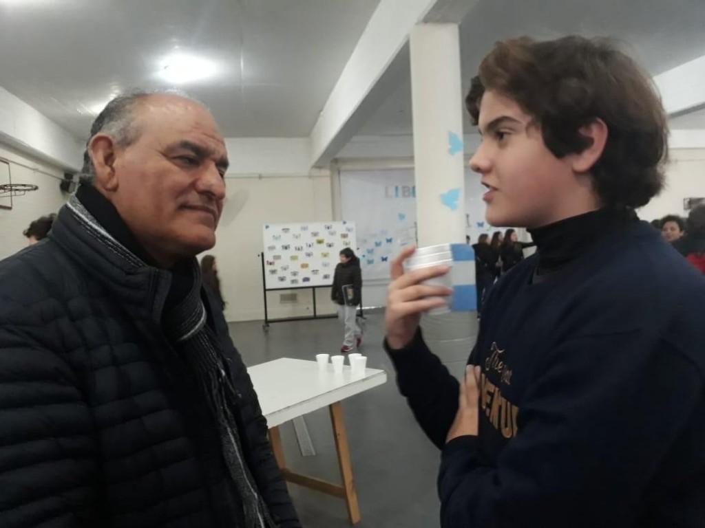 """Juan C. Juárez: """"Para transformar a Luján, la participación de los jóvenes es fundamental"""""""