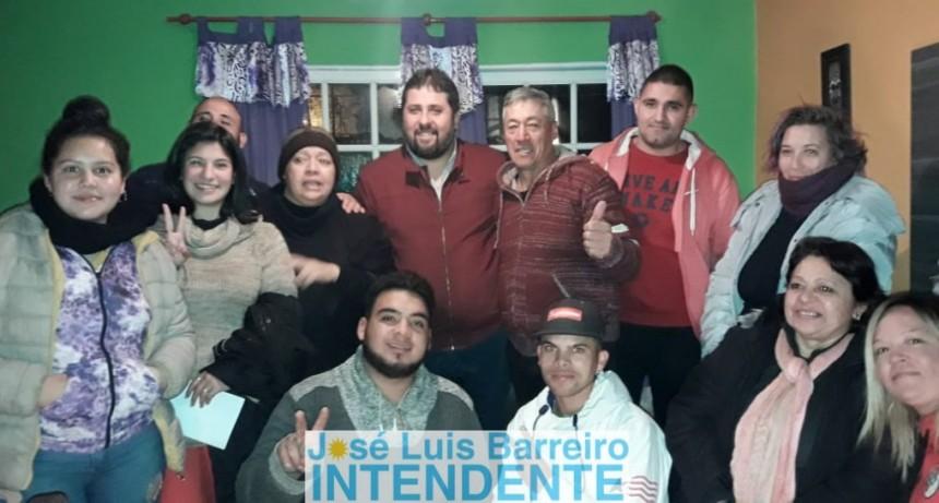 """José Barreiro: """"Sueño un Moreno donde el vecino pueda opinar y que nosotros como dirigentes políticos aprendamos a escuchar"""""""