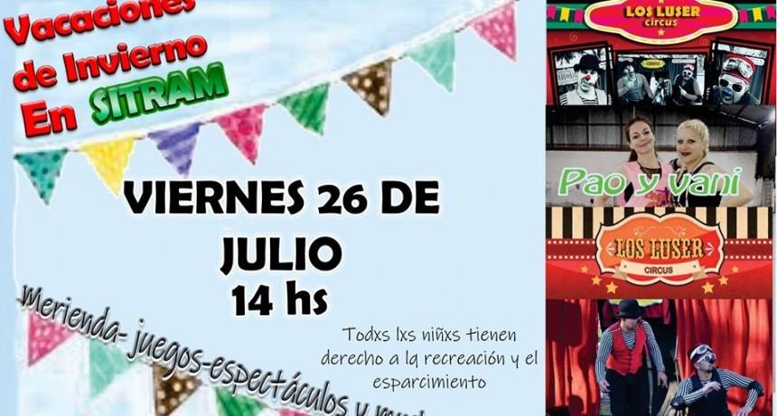 Actividades gratuitas en el sindicato Municipal de Moreno por vacaciones de invierno
