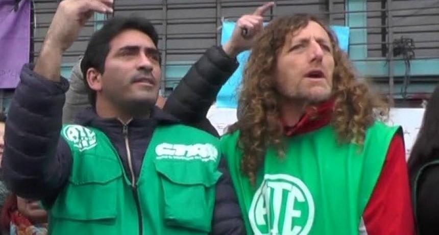 """De Isasi: """"Desde ATE enfrentamos a Macri y Vidal en un escenario de resistencia. No hay que abandonar las calles"""""""