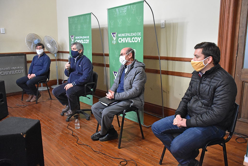 Chivilcoy: El intendente Britos anunció un rebrote de contagios con