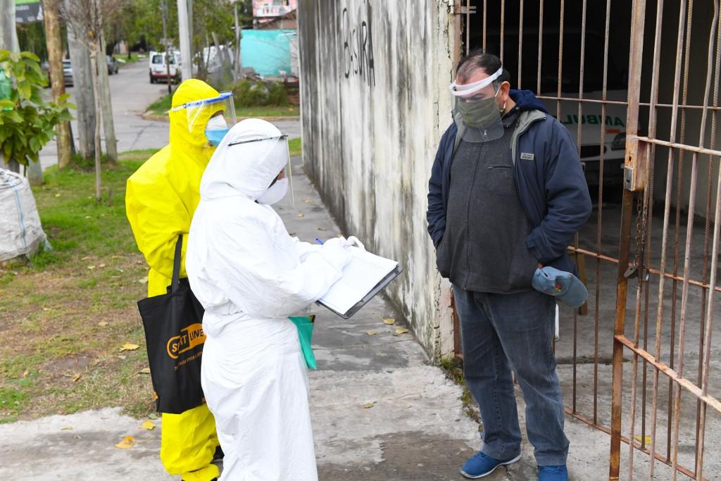 San Fernando avanza con los operativos de detección de coronavirus en más barrios
