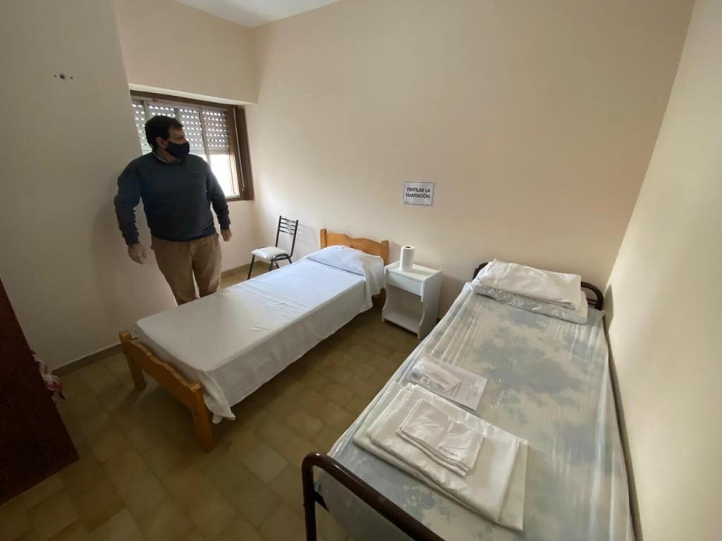 B. Blanca: Acondicionan Centro de Jubilados para utilizarse como Unidad de Cuidado Mínimo Ambulatorio (UCMA)