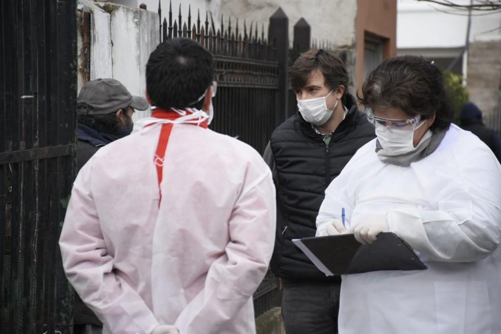 Morón: El Municipio realizó un nuevo operativo de detección temprana de COVID-19 en Castelar
