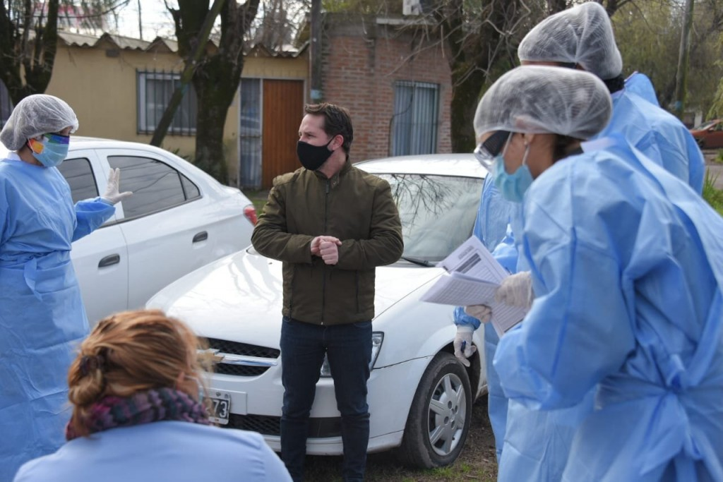 Continúa el programa DETECTAR en Ituzaingó